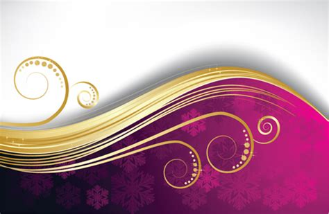 exquisite christmas backgrounds vector