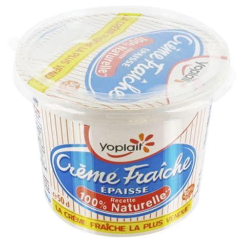 pot de creme fraiche yoplait cr 232 me fra 238 che 233 paisse recette 100 naturelle le pot de 50cl tous les produits