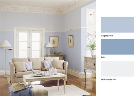 dulux angora blue dulux frillis and dulux white a