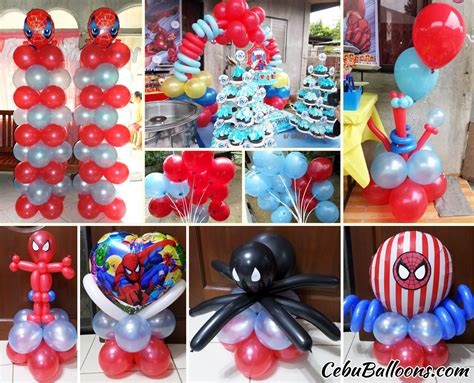 spiderman balloon decoration package at bajac liloan