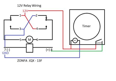 12v relay with timer switch makezilla