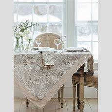 Queen's Court Linen Tablecloth  Linens & Kitchen