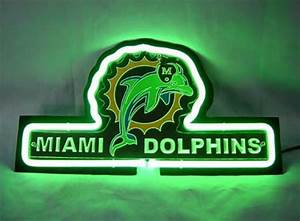 Sd112 nfl miami dolphins 3d beer bar neon light sign 13