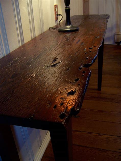 reclaimed wood sofa table wood work woodworking plans couch pdf plans