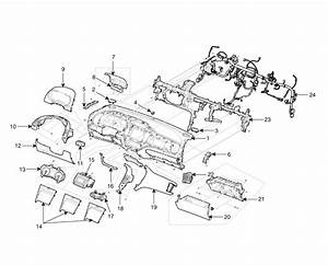 Kia Forte  Components - Crash Pad