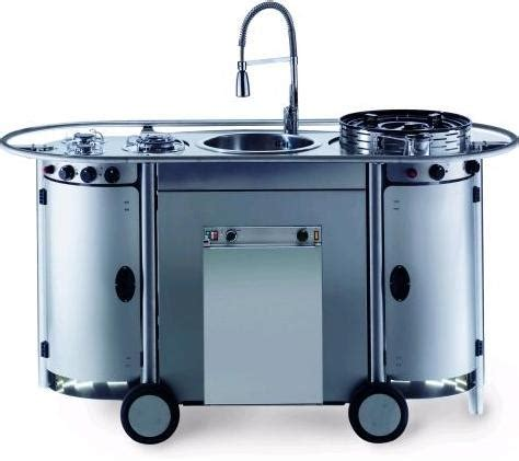 cuisine mobile bongos portable kitchen from emme a professional