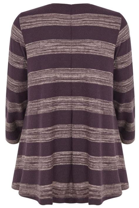 date post jenny template responsive purple diamante striped swing top plus size 16 to 36
