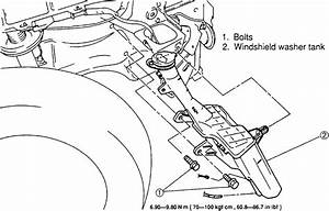 Toyota 3 0 Engine Diagram Windshield Washer Resevor