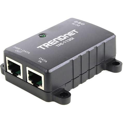 Trendnet Gigabit Power over Ethernet (PoE) Injector TPE