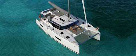 Catamaran Pictures by Brand New 47 Catamaran From Fountaine Pajot Atlantic