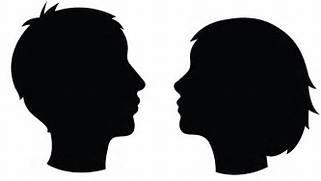 19 silhouette head fre...Clipart Head Profile