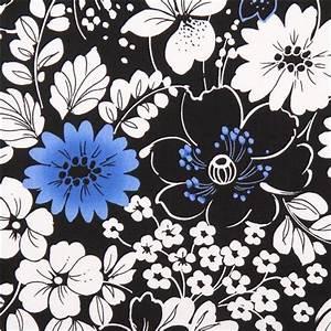 Schwarzer Stoff Kaufen : schwarzer blumenmuster blumen stoff midnight quilting treasures blumenstoffe stoffe kawaii ~ Markanthonyermac.com Haus und Dekorationen