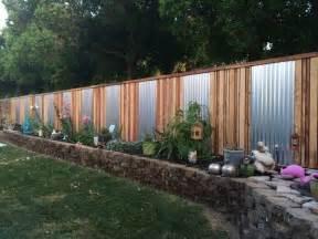 yard fencing ideas diy backyard fancy fence ideas the garden glove