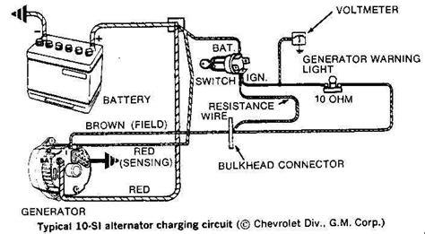 wiring diagram for 3 wire gm alternator powerking co