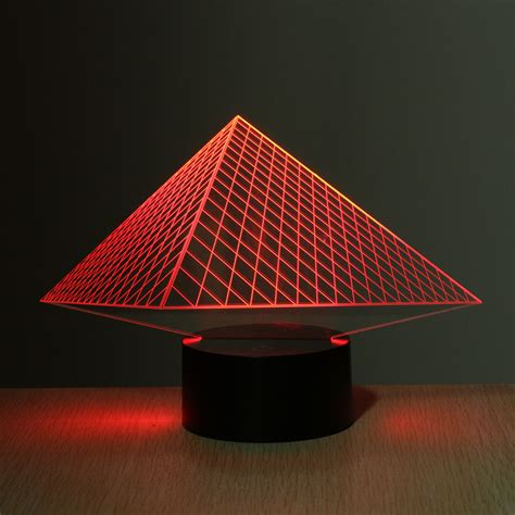 3d illusion table ls 3d illusion 7color bulbing l acrylic led light table