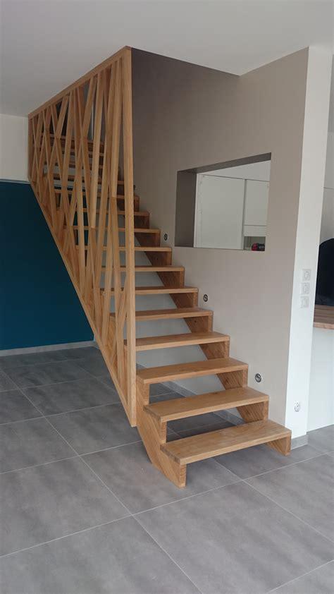 bureau blanc pas cher escalier et garde corps