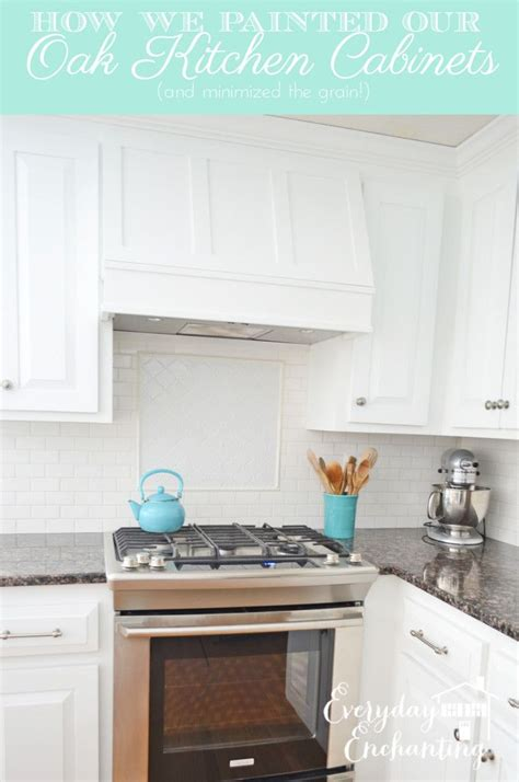 painted white oak cabinets 1000 ideas about painted oak cabinets on