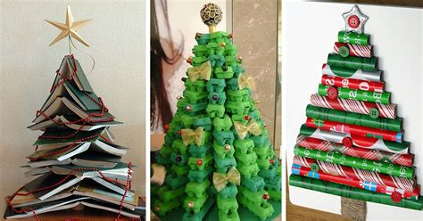 creative diy christmas tree ideas bored panda