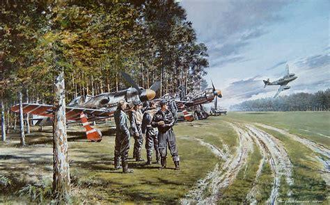 aviation art nutkins geoff thunder sky