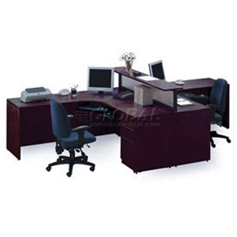 desks office collections storlie 2 person l desk