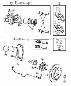 2015 Jeep Grand Cherokee Caliper Assembly  Left  Disc
