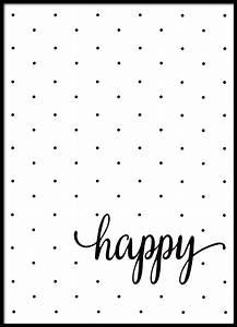 Sprüche Für Bilderrahmen : schwarz wei poster mit text und punkten wohnung pinterest schwarz wei poster und schwarzer ~ Markanthonyermac.com Haus und Dekorationen