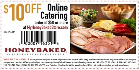 honey baked ham printable coupons honeybaked ham april 2018 i9 sports 22132 | honey baked ham printable coupons