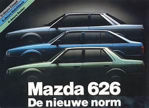 1983 Mazda 626 Brochure