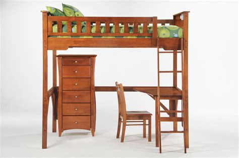 beds that have a desk underneath furniture brown wood bunk bed with l shaped desk and