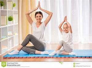 Yoga At Home : yoga at home stock photo image 53899577 ~ Orissabook.com Haus und Dekorationen