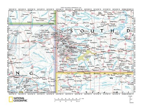 Cheyenne River drainage basin landform origins, western ...
