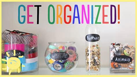 Diy  Get Organized In Style!! Youtube