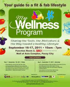 Health and Wellness Program Flyer