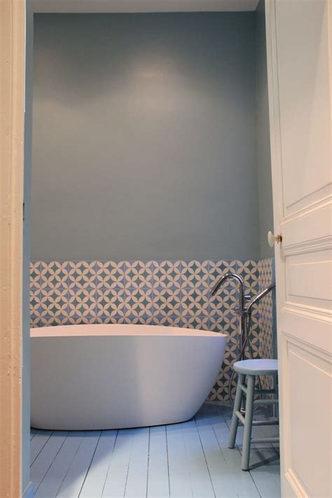 indogate com salle de bain carrelage bleu