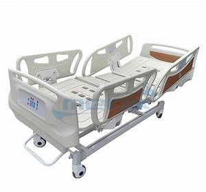 Economic Five Function Electric Bed With Railing Control