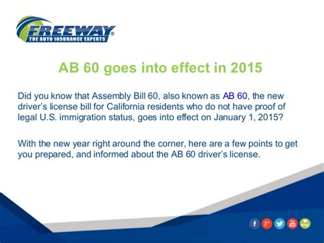 ab 60 california drivers license what you need to