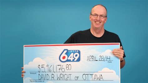 Ottawa Man Collects .9 Million Lotto 6/49 Jackpot