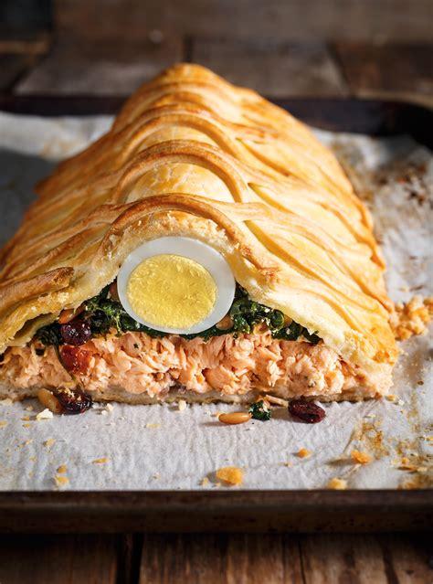 cuisine filet de poulet saumon en croûte koulibiac ricardo