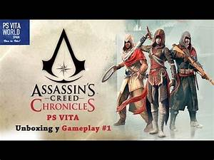 PS VITA ASSASSINS CREED CHRONICLES #1 UNBOXING Y PRIMER ...