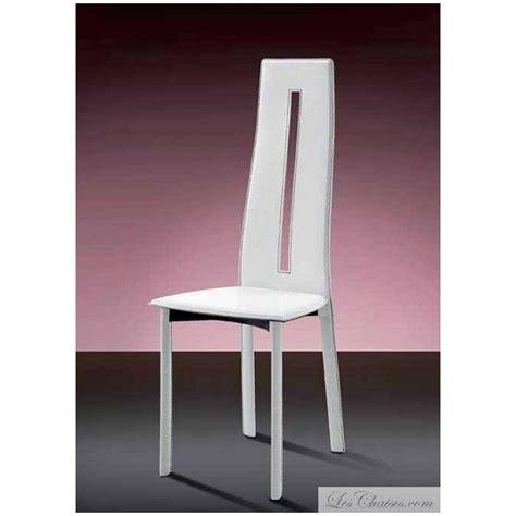 chaises design salle à manger chaise salle a manger cuir anny et chaises cuir design