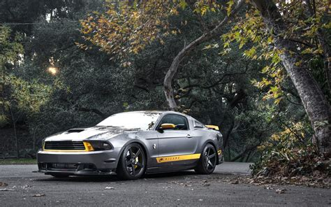 Ford Mustang Muscle Car Vehicles Wallpaper Wallpapers And