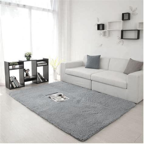 Non Slip Fluffy Shaggy Area Rug Dining Room Carpet Table