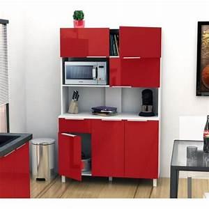 Buffet De Cuisine : lova buffet de cuisine 120 cm rouge haute brillance achat vente buffet de cuisine pas cher ~ Teatrodelosmanantiales.com Idées de Décoration