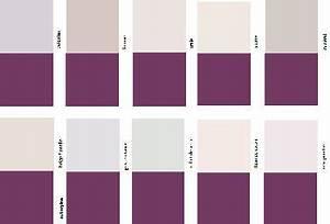comment associer la couleur aubergine en decoration deco With couleur qui va avec le gris clair