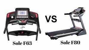 Sole F63 Treadmill Vs F80 Treadmill