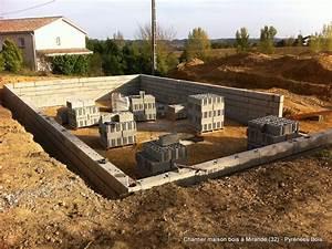 construction maison bois les etapes pyrenees bois With etape a suivre pour construire sa maison