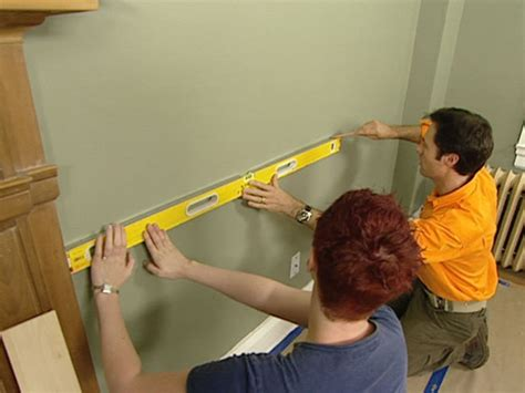 how to install a chair rail how tos diy