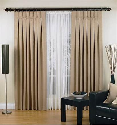 Drapes Pleat Inverted Window Curtains Sheer Smarten