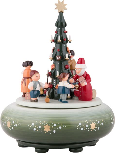 christmas music box box the giving 24 cm 9in by kwo