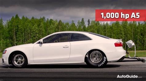 Cheap Cars With High Hp by Jens Eklund Builds 1 000 Hp Drag Audi A5 187 Autoguide News